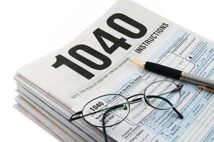 米国個人所得税確定申告書およびその他税務関連書類作成のイメージ